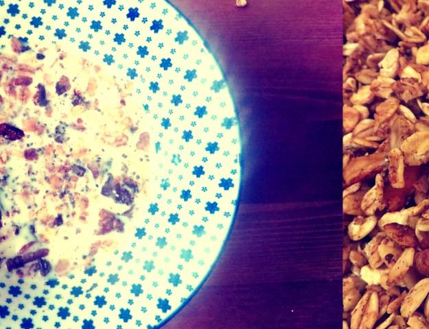 Pumkin Spice Granola