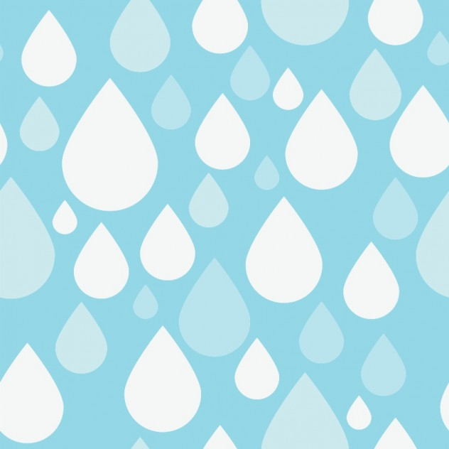 simple blue raindrop pattern