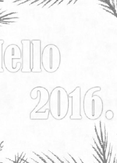 Happy 2016...